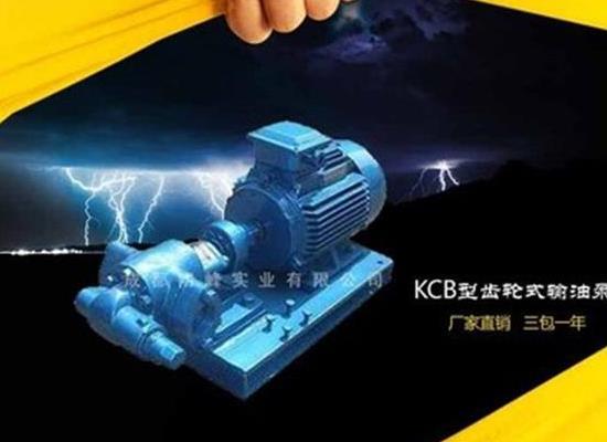 供應KCB齒輪式輸油泵 KCB型不銹鋼齒輪油泵 KCB-18