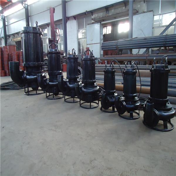 CSQ自动铰吸潜水渣浆泵 强劲绞吸