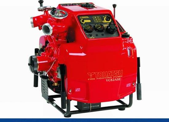 進口新VC82ASE日本東發應急消防泵  消防機動泵