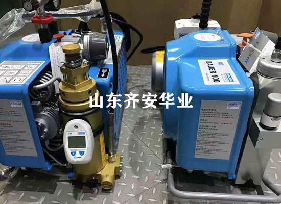青島潛水俱樂部用寶華空氣壓縮機JUNIOR II