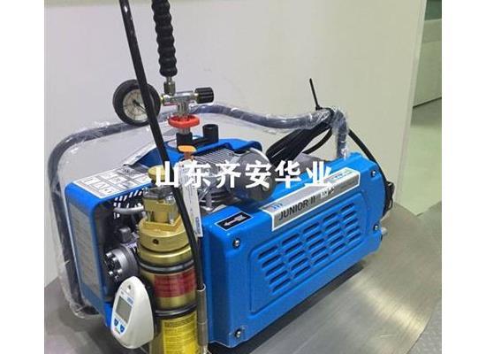 山東消防隊用JUNIOR II-E寶華充氣泵呼吸器充氣機