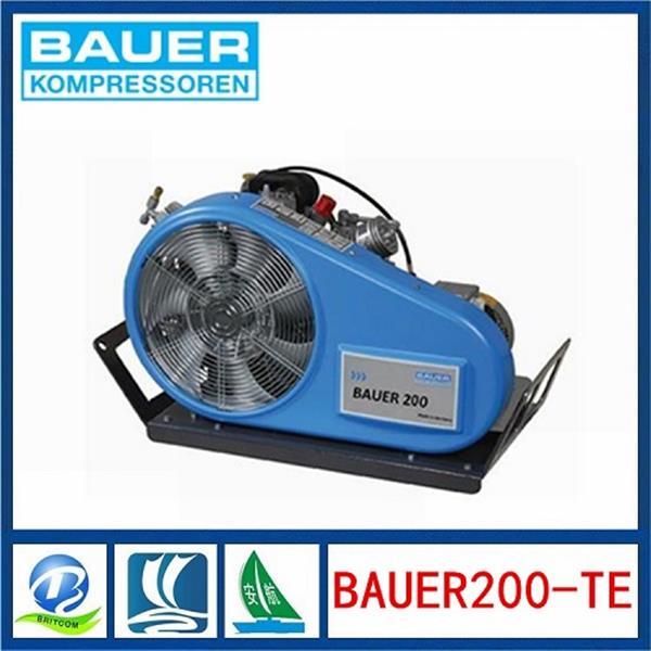 进口呼吸器空气压缩机BAUER 200-TE宝华充气泵