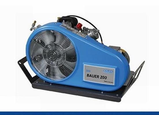進口呼吸器空氣壓縮機BAUER 200-TE寶華充氣泵