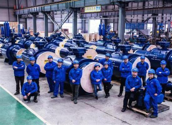 """精控阀门"""" 56″ Class 900高压大口径全焊接球阀""""通过新产品鉴定"""