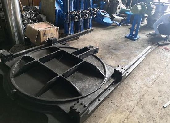 ZMQF靠墙式铸铁镶铜方形闸门厂家供应