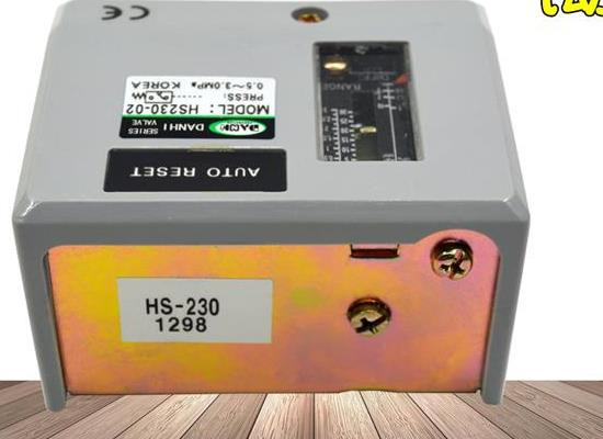 韓國DANHI丹海HS230-02冷干制冷機壓力開關HS-2
