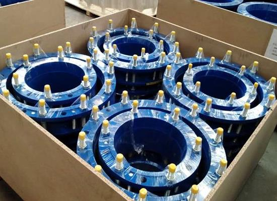 傳力接頭-雙法蘭傳力接頭鞏義市威力水電設備材料廠