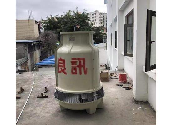 江门20T标准逆流式圆形冷却塔小型凉水塔