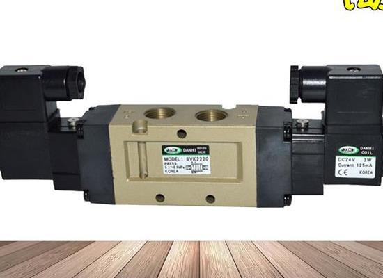 韩国DANHI丹海五5通电磁阀SVK2220气缸控制阀YPC