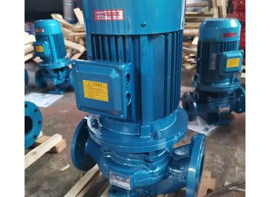 ISG/ISW排污管循環泵立式管道離心泵熱水泵空調泵
