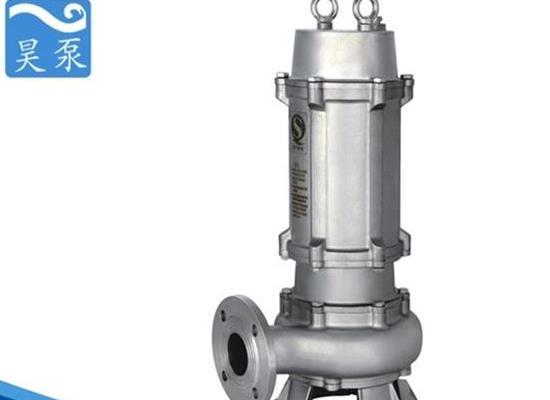 工厂污水排放用300WQ潜水排污泵