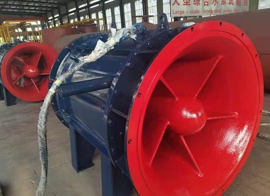 扬水站用500QGWZ全贯流潜水电泵湿定子结构