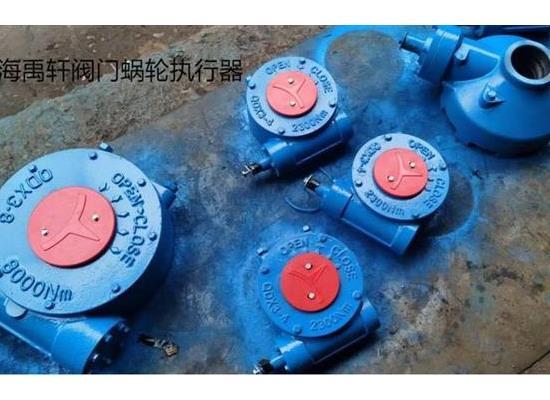 上海禹軒QDX3-7蝶閥蝸輪箱,QDX3-8不銹鋼渦輪箱