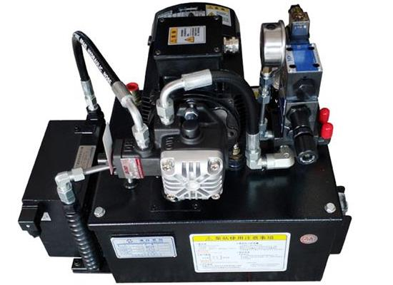精密车床液压系统  OS80L液压泵站 液压动力站