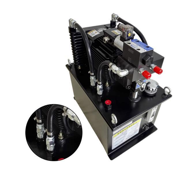 加工中心夹具液压系统 OS60L液压泵站 液压站