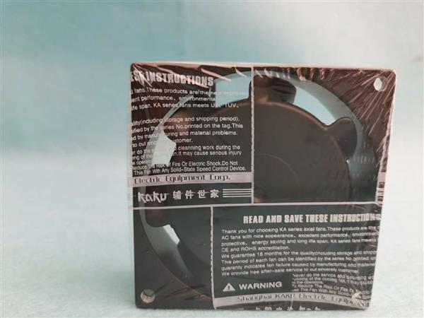 卡固KAKU调整器原装KA8025HA2S功率风扇散热排风扇