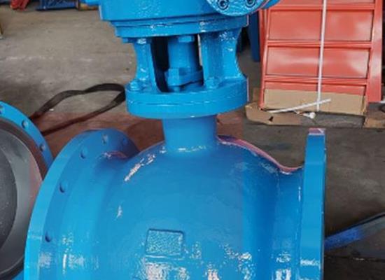 国标蜗轮传动WCB铸钢偏心半球阀