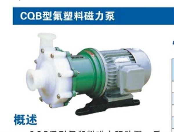 抗腐蝕性氟塑料磁力泵