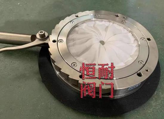 气动光圈隔膜阀