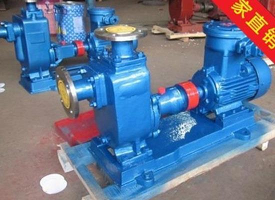 ZX型自吸式离心泵 工业清水泵 不锈钢自吸式离心泵家用自吸泵