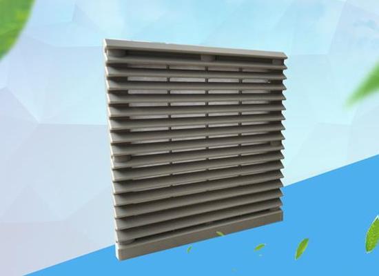 ZL805通风过滤网组 20060风扇塑胶防尘百叶窗机柜通风