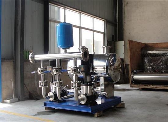 三利智能型管网叠压(无负压)供水设备选型 参数 原理