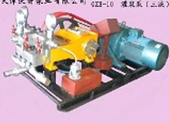 供應天津沃特高壓注漿泵GZB-90E75柱塞