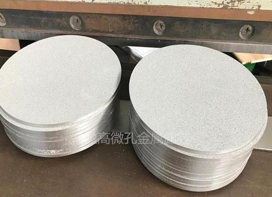 YG-LB-002制氢行业气体扩散粉末钛烧结板