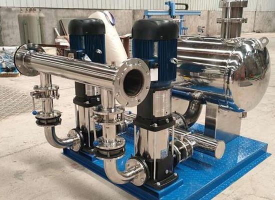 供应济宁生活给水变频调速机组,三利成功与科技共辉映