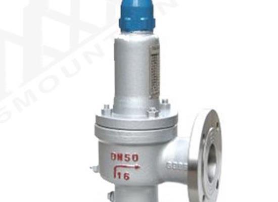 BWA42Y保洁波纹管背压平衡全启式安全阀(编号8745)