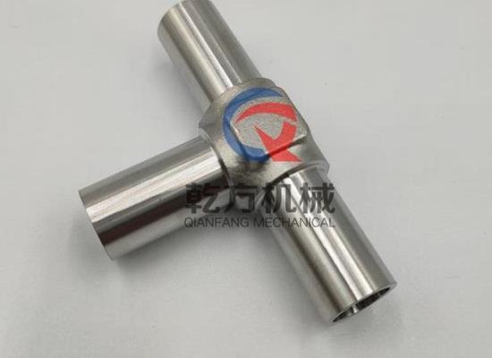 半导体行业专用:超洁净BA级 三通 不锈钢三通接头