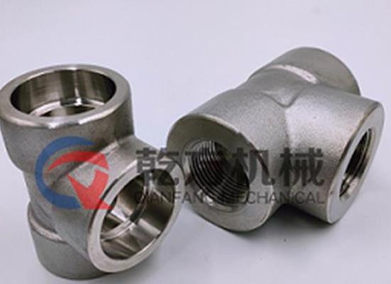 双相不锈钢F51/2507双相钢F53承插焊 螺纹内丝三通