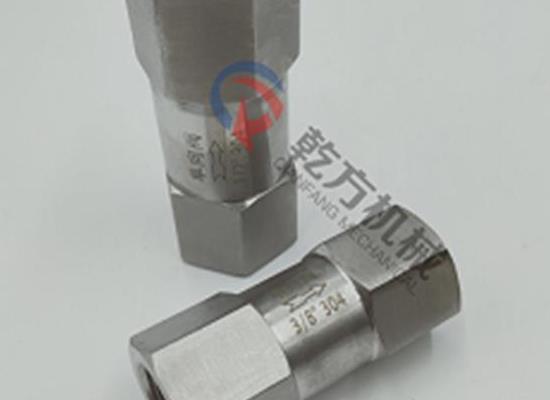 高壓止回閥,不銹鋼高壓內螺紋止回閥,高溫蒸汽水油氣體單向閥