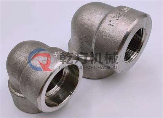 化工管道接头 流体设备管道接头 厂家定做耐腐蚀2205 2507材质 内丝弯头