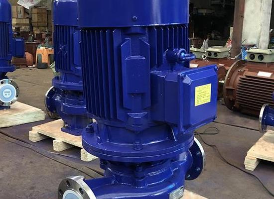 ISG型立式管道泵,ISG型立式管道離心泵-請到三利