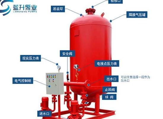 臨沂手續齊全隔膜式氣壓罐生產廠家是山東藍升泵業