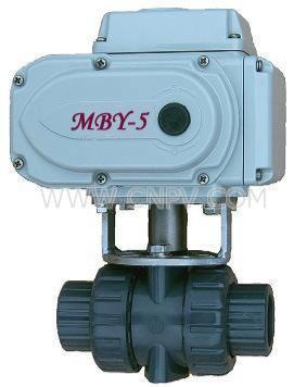 UPVC电动球阀(DN15-200)