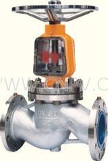 JY41W不锈钢氧气截止阀(JY41W--DN50-600mm)