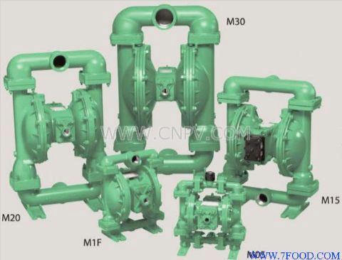 美国MARATHON马拉松�]想到气动隔膜泵(M1F:M15:M20:M30:)