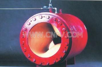 美国红阀气动管夹阀 进口大口径现在管夹阀(Megaflex)
