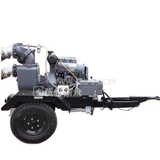 真空辅助新型自吸排水泵车(HC-6ZKXZ.2T)