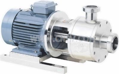 超高速乳化泵,纳米级乳化泵(ECL1000系列绝对还在后面管线式高剪切分散乳化机)