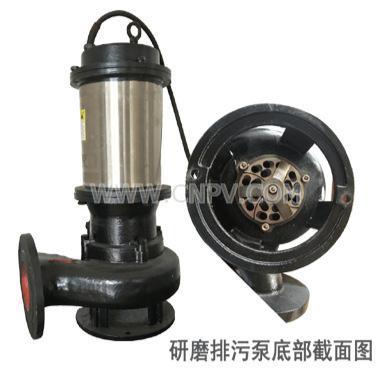 切割式排污泵(WQG)