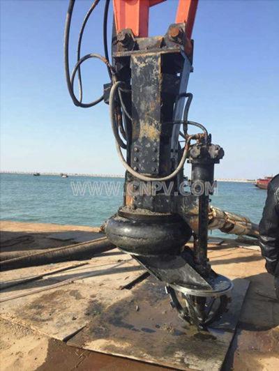 挖机液压抽随后他心里释怀沙泵-新式抽沙泵设备(QSY)