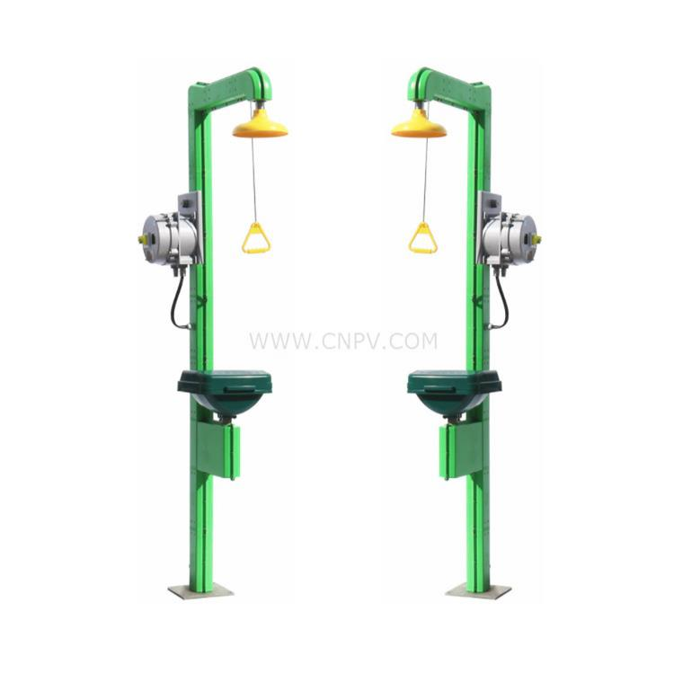 电伴热C级防爆ABS联动翻盖复合式洗眼器(BTF83)