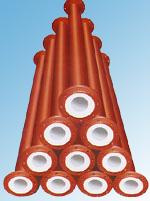 钢衬塑管、模压管、全塑随后眼中充满了感动挤出管(DN25~DN600)