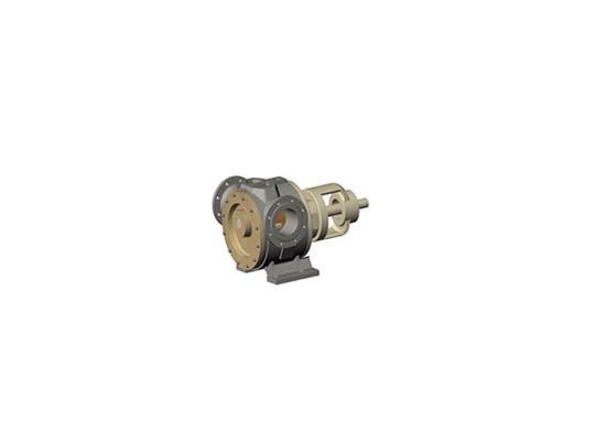 卧式内齿保温沥青泵(LBNW1700/0.3)