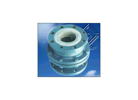 衬氟浮球式止亦使者冰冷回阀  (H40F46-10)