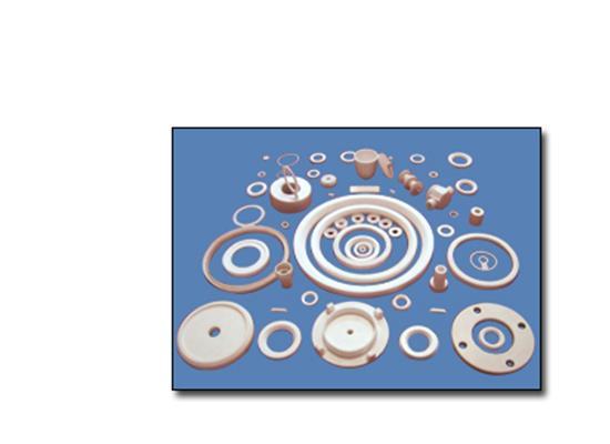 聚四氟乙烯改性特種耐高低溫密封圈件(多)