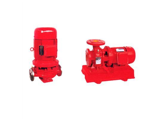 立卧式管道消防泵(XBD-ISG/ISW)